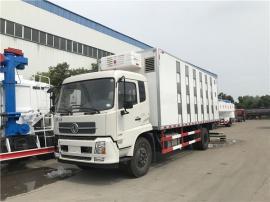5.8米拉活生猪车 7米6鸡苗运输车规格