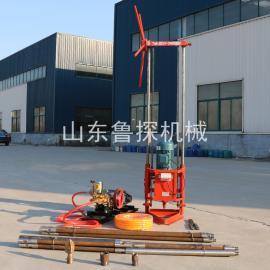 鲁探机械地质勘探钻机QZ-2A三相电轻便岩心钻机