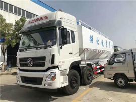 8吨 自动上料车 9吨拉饲料罐子车自主研发
