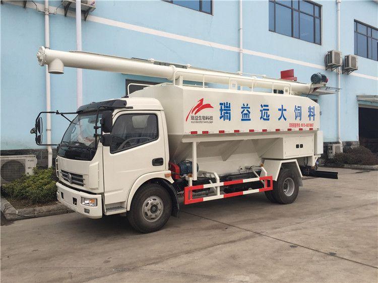 12吨拉饲料的车 运饲料罐车销售处
