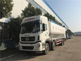 40吨封闭式饲料运输罐车 15吨拉散装饲料的轻卡车订做周期多久