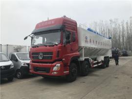 12吨正大饲料车 28立方饲料运输车联系电话