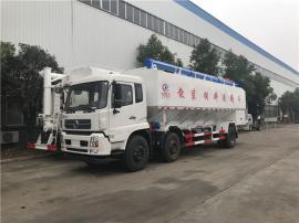 5吨封闭式饲料运输罐车 饲料运输车生产工艺
