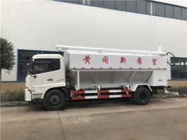 转运封闭式饲料运输罐车 拉散装饲料的罐子车参数配置