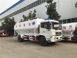 15吨温氏饲料车 绞龙散装饲料车可办理分期