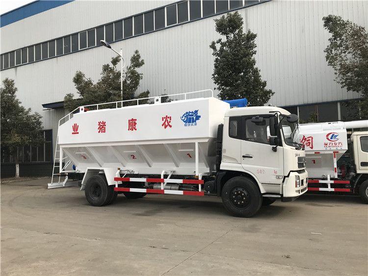 22吨液压散装饲料车 散装饲料车订制