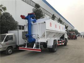 10吨拉散装饲料的轻卡车 运饲料罐车代理点