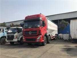 40方散装饲料运输车 东风天龙拉饲料的罐子车配置参数