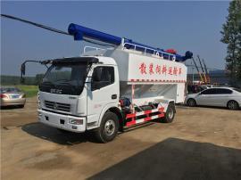 6-8吨饲料罐车 猪场罐装料车质优价廉