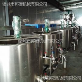 酱料生产线设备-行星搅拌炒锅品牌