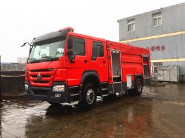 江特牌JDF5204GXFPM80型豪沃8��泡沫消防�