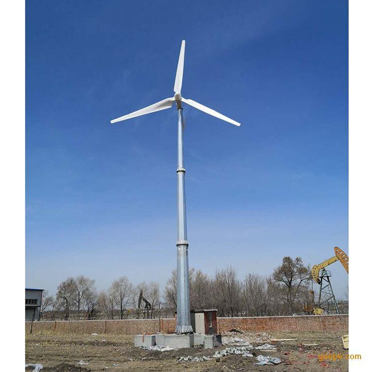 30kw低转速大型风力发电机微风启动低风速三十千瓦风力发电机组