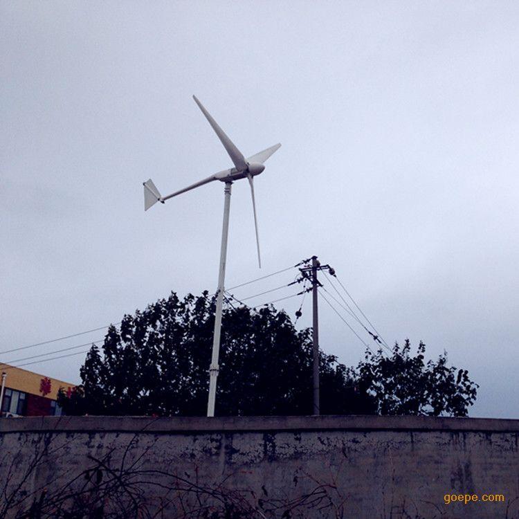 1kw风力发电机家用@1000w风力发电机户外工程照明用@48v直流照明