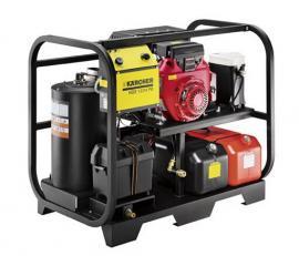 提供德国凯驰HDS13/24 PE Cage燃油热水高压清洗机