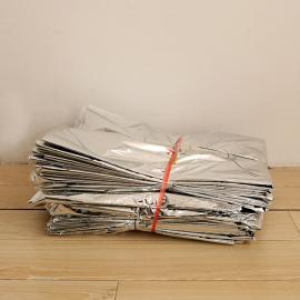订做木箱真空包装袋、银白色铝塑包装袋