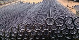 钢厂专用的有机硅除尘骨架 喷塑除尘笼骨