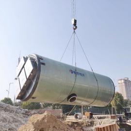 一体化泵站玻璃钢筒体按需定制