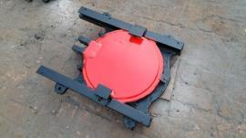 ZXY铸铁镶铜圆闸门0.3米X0.3米法兰式铸铁闸门止水效果好品质高
