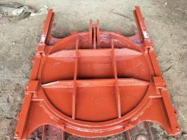 ZMQY铸铁镶铜圆闸门预埋钢板尺寸安装使用说明