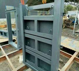 1.5米X1.5米河道喷锌防腐钢闸门的工作原理平面滑动钢闸门的设计
