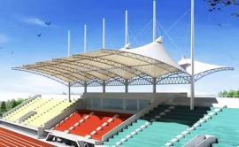 景观张拉膜设计安装 体育场张拉膜设计安装报价