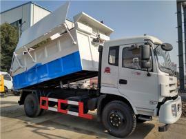 *新款式10吨污泥运输车-全封闭12吨污泥自卸车