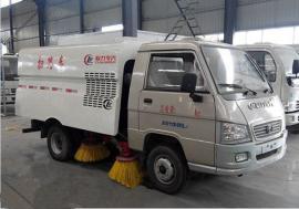 吸尘车吸扫式清扫车厂区扫路车