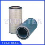 圆形小孔吊装空气滤筒 除尘滤筒 除尘器过滤筒
