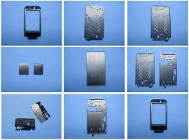 手机不锈钢外框支架冲压件,卡托卡槽配件冲压加工