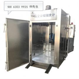 全自动豆腐干烟熏机器,豆腐干蒸熏炉