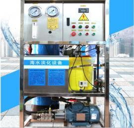 定制 原水船用海水淡化设备 反渗透净化装置100L每小时