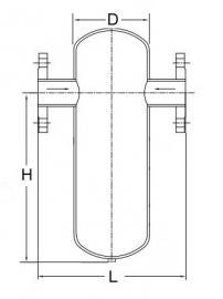 FL13-16气水分离器