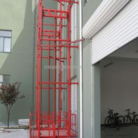 导轨式升降货梯 单杠双轨式升降货梯 导轨式升降机
