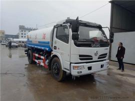 9.9吨东风洒水车 50米建筑工地降尘车