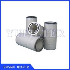 聚酯纤维空气滤筒 空气滤筒 除尘滤筒 除尘器过滤筒