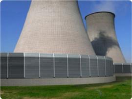电厂冷却塔声屏障 隔声屏障 新力声屏障专业生产定制