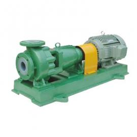 IHF氟塑料合金化工泵,泵体采用F46耐腐耐磨耐高温机械强度高