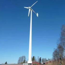 20千瓦风力发电机 20kw大功率发电机 静音免维护风力发电机