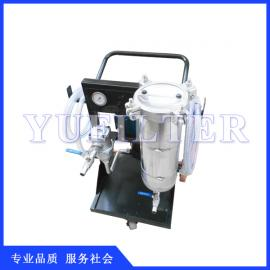 手推式LYC-A液压油滤油机 液压油滤油机 滤油机 滤油车