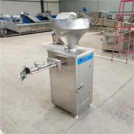 香肠自动灌肠机 气动定量扭结灌肠机 香肠成套加工设备