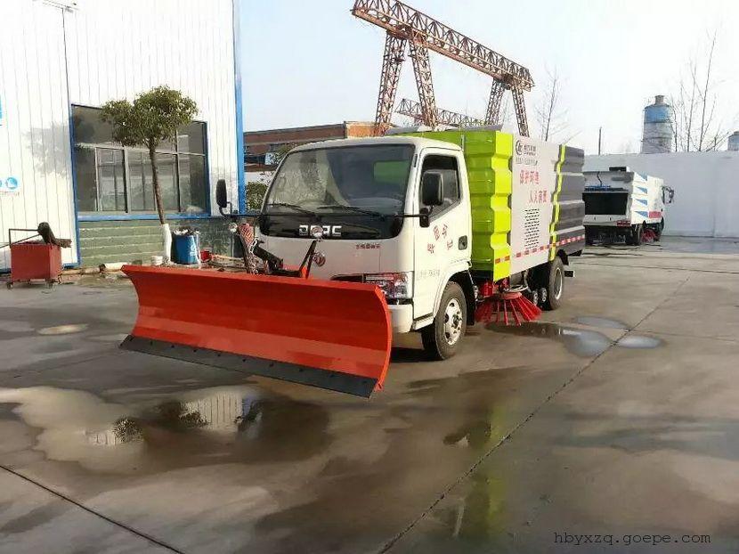 公路吸扫车厂家当压力提供给膜片时,杠杆移动去打开废气旁通阀.