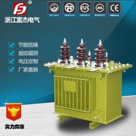 13.8/0.4KV 100KVA 三相油浸式变压器 配电降压变压器 全铜