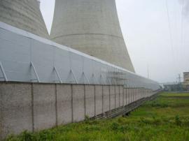 电厂冷却塔声屏障 新力声屏障专业生产定制安装