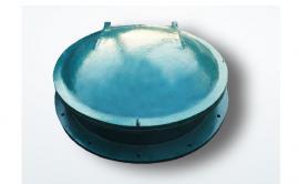 长期提供优质玻璃钢圆拍门 玻璃钢拍门安装 拍门定做