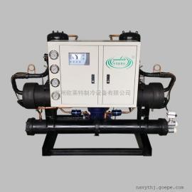 开放式工业冷却机,20p壳管水冷冷水机组