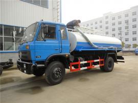 全密封式污泥运输车辆型号-养殖场8吨10吨粪污运输车报价