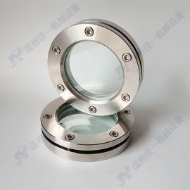 加工定制不锈钢法兰视镜(内六角沉孔螺丝) 平焊法兰对夹视镜