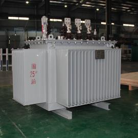 S11-630KVA 10/0.4KV 三相无励磁低损耗 油浸式配电变压器 铜芯