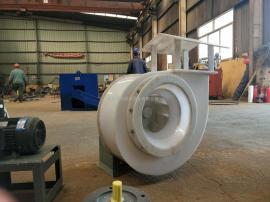F4-72塑料防腐风机|PP耐磨风机|化工专用风机|安泰风机