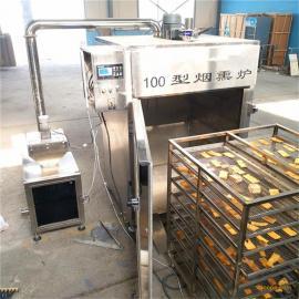 豆干节能环保烟熏炉,烟熏豆干设备
